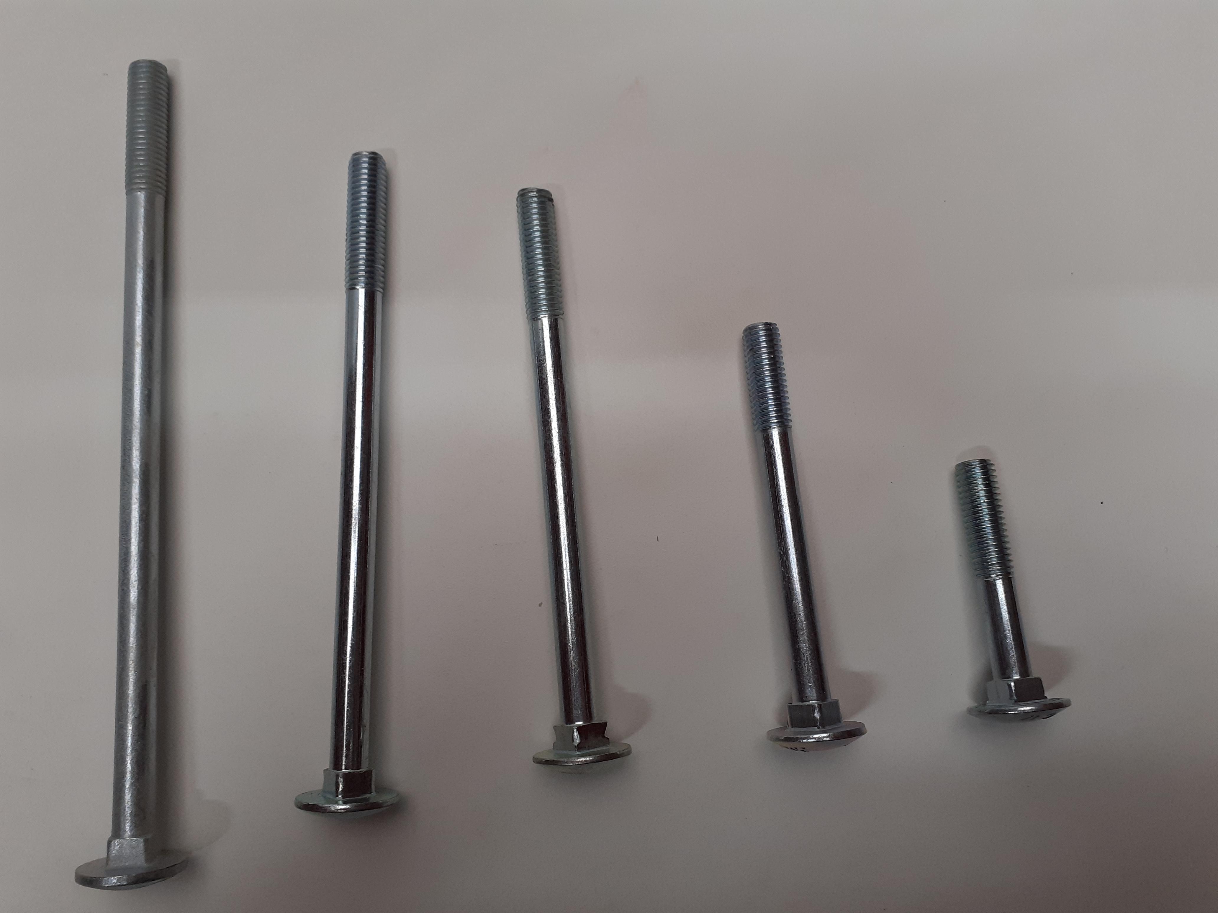 Flachrundschrauben Konvolut M10x70,M100,M140,M160,M200